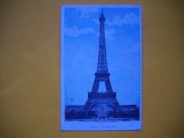 Cpa   PARIS  -  75   - La Tour Eiffel - Tour Eiffel