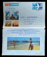 AEROGRAMME AEROGRAM AIRLETTER * SRI LANKA SENT TO THE NETHERLANDS 1977 - Sri Lanka (Ceylon) (1948-...)
