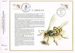 VR 67  HERDENKINGS BLAD  FRANKRIJK ZIE  SCANS - Honeybees