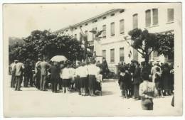 """Cartolina Postale """" Manifestazione Fascista """" - Militaria"""