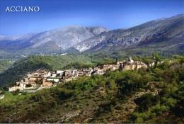 Acciano (AQ) - Panorama N Nv - L'Aquila