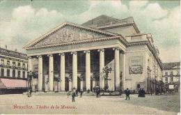 BRUXELLES - Théâtre De La Monnaie - Carte Colorisée - Unclassified