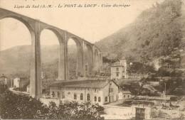 Ligne Du Sud - Le Pont Du Loup - Usine Electrique - France
