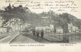 ESNEUX -  Souvenir D´Esneux - Le Pont Et Les Roches - Edit. E.C. N° 75 - Esneux