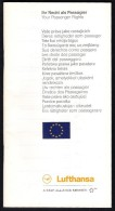 # LUFTHANSA IHR RECHT ALS PASSAGIER Feb2006 Aviation Flight Air  Passenger Rights - Profiles