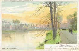 TERVUEREN -  Parc De Tervueren - La Belgique Pittoresque - Edition Artistique - Lithographie J.L. GOFFART Bruxelles - Tervuren