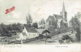 Environs De WALCOURT - Eglise De BERZEE - Publicité Bouillon MAGGI - Walcourt