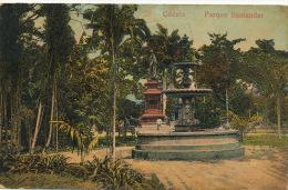 Cucuta Parque Santander Circulada Botica San José Enrique Meoz A Santa Clara Cuba - Colombie