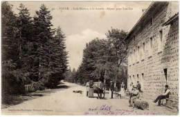 Poule - Café Dupuis, à La Scierie ... (éditeur Thomas) - France