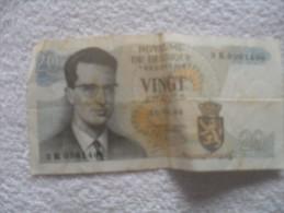 Billet  De Belgique De 20 Francs  15 06 64 - Belgio