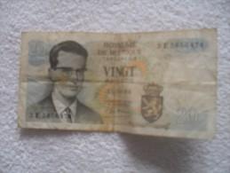 Billet  De Belgique De 20 Francs  15 06 64 - Belgien