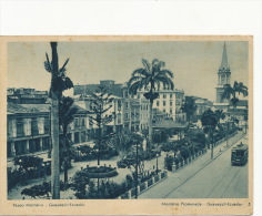 Guayaquil   Paseo Montalvo Tramway Tram - Equateur