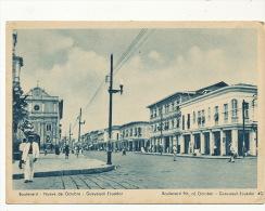Guayaquil    Boulevard Nueve De Octubre - Equateur
