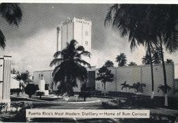 Puerto Rico  Most Modern Distillery Home Of Rum Carioca Ron Rhum - Puerto Rico