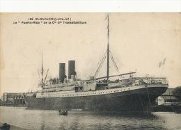"""Puerto Rico   St Nazaire France Le """" Puerto Rico """" CGT Cie Generale Transatlantique Paquebot - Puerto Rico"""