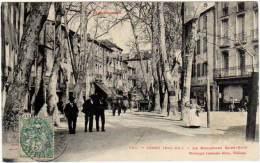 Céret - Le Boulevard Saint-Roch (photot. Labouche) - Ceret