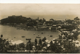 Real Photo Inner And Outer Harbour St Georges Grenada BWI - Grenada