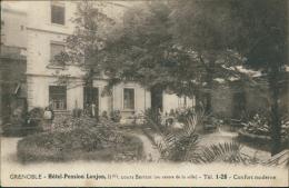 38 GRENOBLE / Cours Berriat, Hôtel Pension Lonjon / - Grenoble
