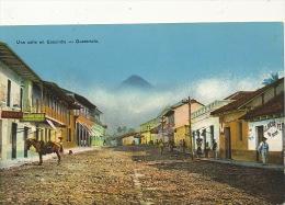 Una Calle En Escuintla  Fot Torres - Guatemala