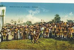 Escena Del Tiempo De La Conquista 4 Sellos Distintos Lago De Atitlan   Fot Torres - Guatemala