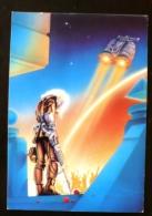 JOE SPENCER L'ennemi Interieur Par Ron Hubbard. SCIENCE FICTION - Künstlerkarten