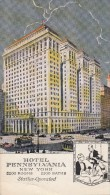 Thematiques United States Building Hôtel Pennsylvania New York 2200 Rooms 2200 Baths Statler Operator - New York City