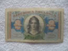 Billet De  2 Peseta De 1938  A 0869640 - Other