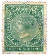 (I.B) Cape Of Good Hope Revenue : Stamp Duty 15/- - Sud Africa (...-1961)