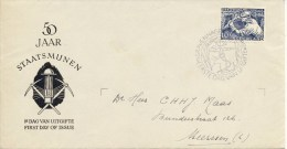 E8 - Met Adres / Open Klep (CW = € 120,-) - FDC