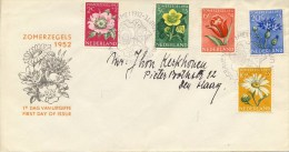 E9 - Met Adres / Open Klep (CW = € 175,-) - FDC