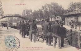 TOUT PARIS - Canal Saint Martin Au Quai Jemmapes Et Quai Valmy - Arrondissement: 10