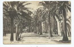 CPA - Ajaccio - Avenue Du 1er Consul - Ajaccio