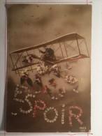 Guerre De 1914, Espoir, Avion, Soldat De Cahors - Guerre 1914-18