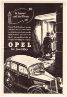Original Werbung - 1935 - OPEL - Krankenwagen , Arzt , Oldtimer !! - KFZ