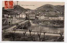 BESSEGES (30) - PONT ET AVENUE DE LA GARE - Bessèges