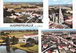 ¤¤  -  AIGREFEUILLE   -  Multivues  -  Eglise Et Vue Générale  -  ¤¤ - Aigrefeuille-sur-Maine