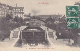 TOUT PARIS - Ecluse Du Canal St-Martin - Arrondissement: 10