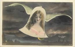 Ref C439- Voyage De Cloches - Cloche - Medaillon Femme - Artiste A Identifier - Theme Artistes -cloches   -femmes - - Femmes
