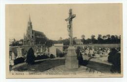 CP , 76 , ROUEN , Le Cimetière Et L'Eglise - Rouen