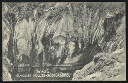 HUNGARY ROMANIA 1915 Kolozs Sosfurdo,Bath,Cojocna,Clu J -Dörgo,cave,rocks - Rumänien