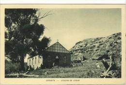 Carte Postale Ancienne Lesotho - L'Eglise De Léribé - Lesotho