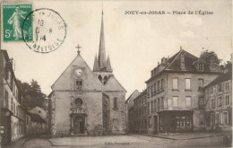 78 JOUY EN JOSAS - PLACE DE L EGLISE ( EDITEUR FARNAULT ) - Jouy En Josas