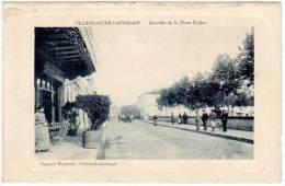 Villefranche Lauragais - Quartier De La Place St-Jean ( Pap.Frayssinet ) - France