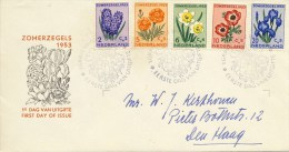 E13 - Met Adres / Open Klep (CW = € 170,-) - FDC