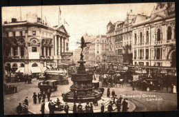 LONDON - Piccadilly Circus - Circulated - Circulé - Gelaufen - 1923. - Piccadilly Circus