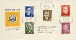 E16 - Met Adres / Open Klep (CW = € 130,-) - FDC