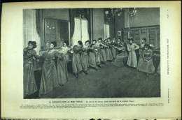 De 1902 - Article/photogravure - Le Conservatoire De Mimi Pinson - - Vecchi Documenti