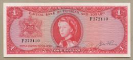Trinidad & Tobago - $1  Pierce  QEII  P26a  Uncirculated  ( Banknotes ) - Trinité & Tobago