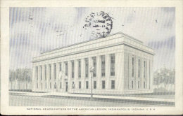 Carte Postale Ancienne (Post Card) - National Headquarters Of The American Legion, Idianapolis, Indiana, U. S. A. - Indianapolis