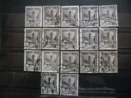 TUNISIE N°132 X 17 Oblitéré - Vrac (max 999 Timbres)